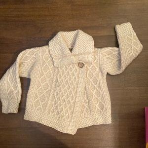Carraigdonn 100% Wool Sweater made in Ireland